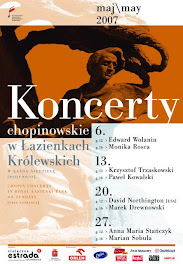 CHOPIN CONCERTS AT ROYAL LAZIENKI PARK 50th anniversary
