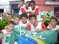 O PETI e o PETECA também participam de ações de cidadania na Praça