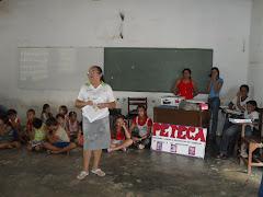 A CCF,PETI e PETECA e Escola Manoel Leite parceria que dá certo