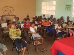 Palestra com a Dra.Fátima Silva Advogada do município explanando o tema