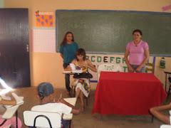 Dra.Fátima Silva advogada dá uma palestra sobre exploração do trabalho infantil