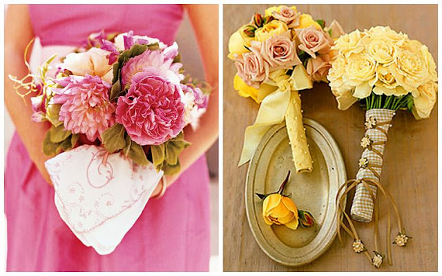 martha stewart weddings create a handerkerchief ring pillow