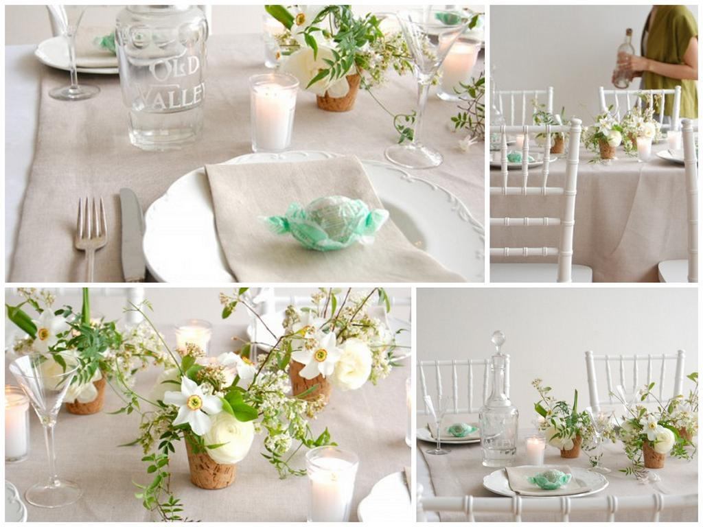 postcards and pretties: {spring} light & airy table