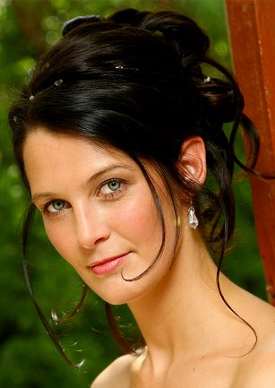 Wedding Updos hairstyle. There are certain hairstyles that would create a