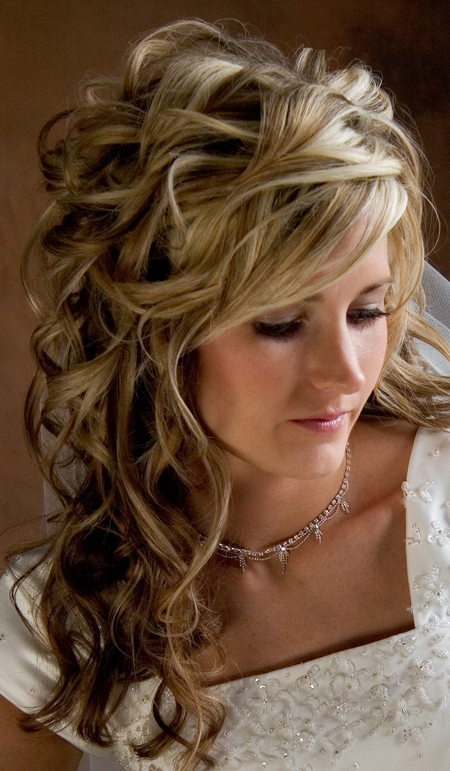 For many brides the hairstyle they choose for their wedding day is almost as