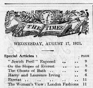 The Times Aug 17 1921