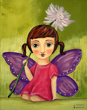 Cute Fairy with Flower