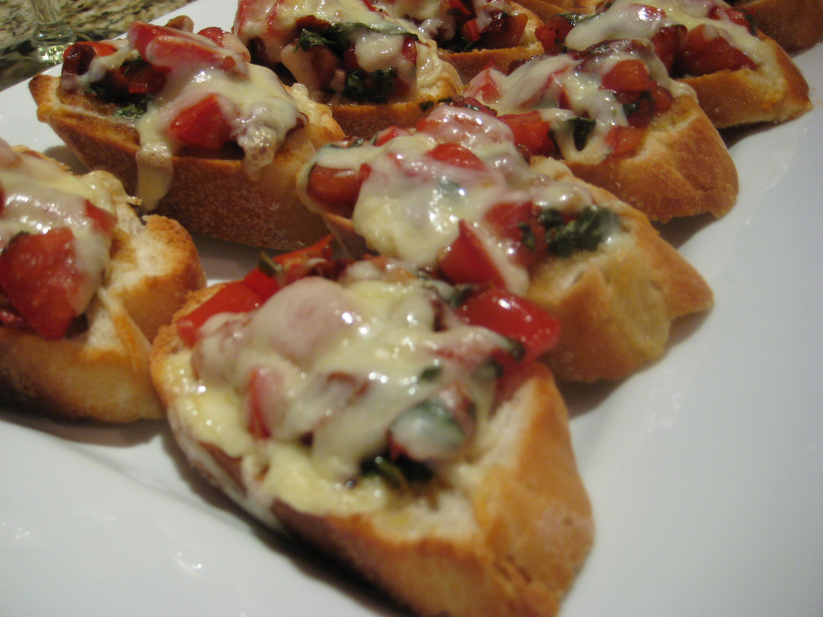 Being Suzy Homemaker: Double Tomato Bruschetta
