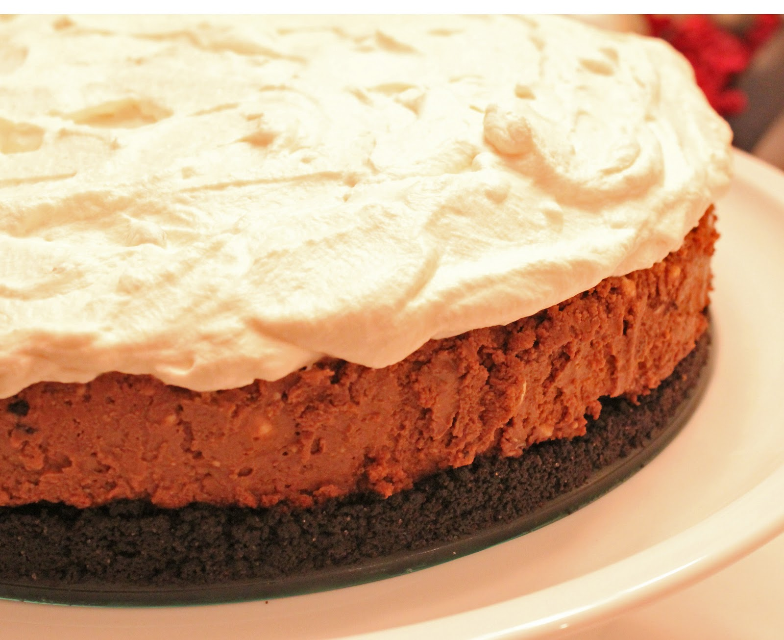 Being Suzy Homemaker: Chocolate Cappuccino Cheesecake