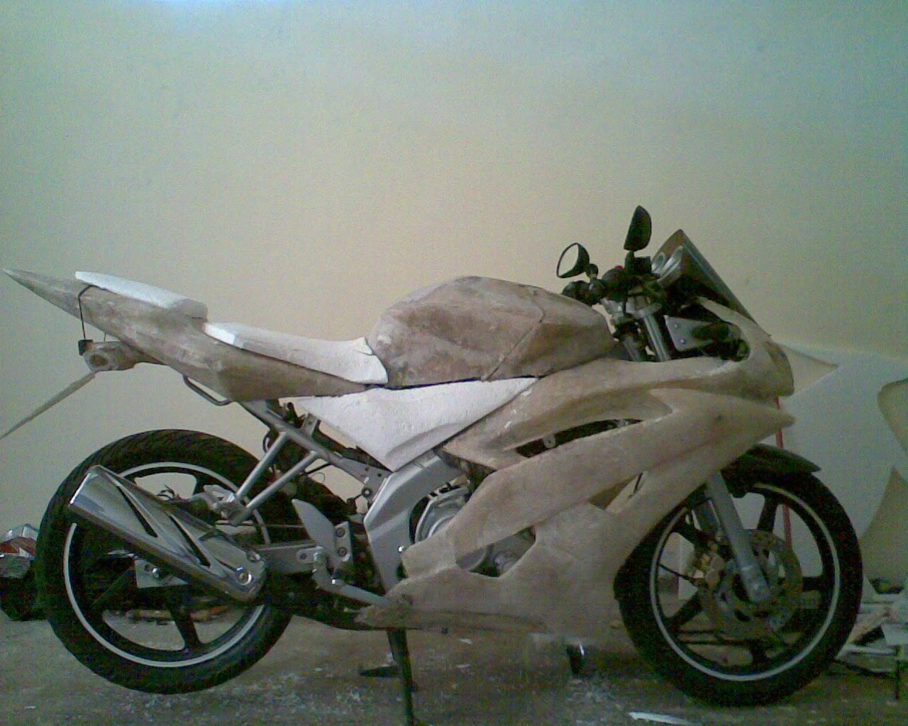 Picture of Modifikasi Yamaha Vixon
