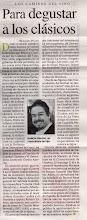 Crítica en Perfil, Abril 2009