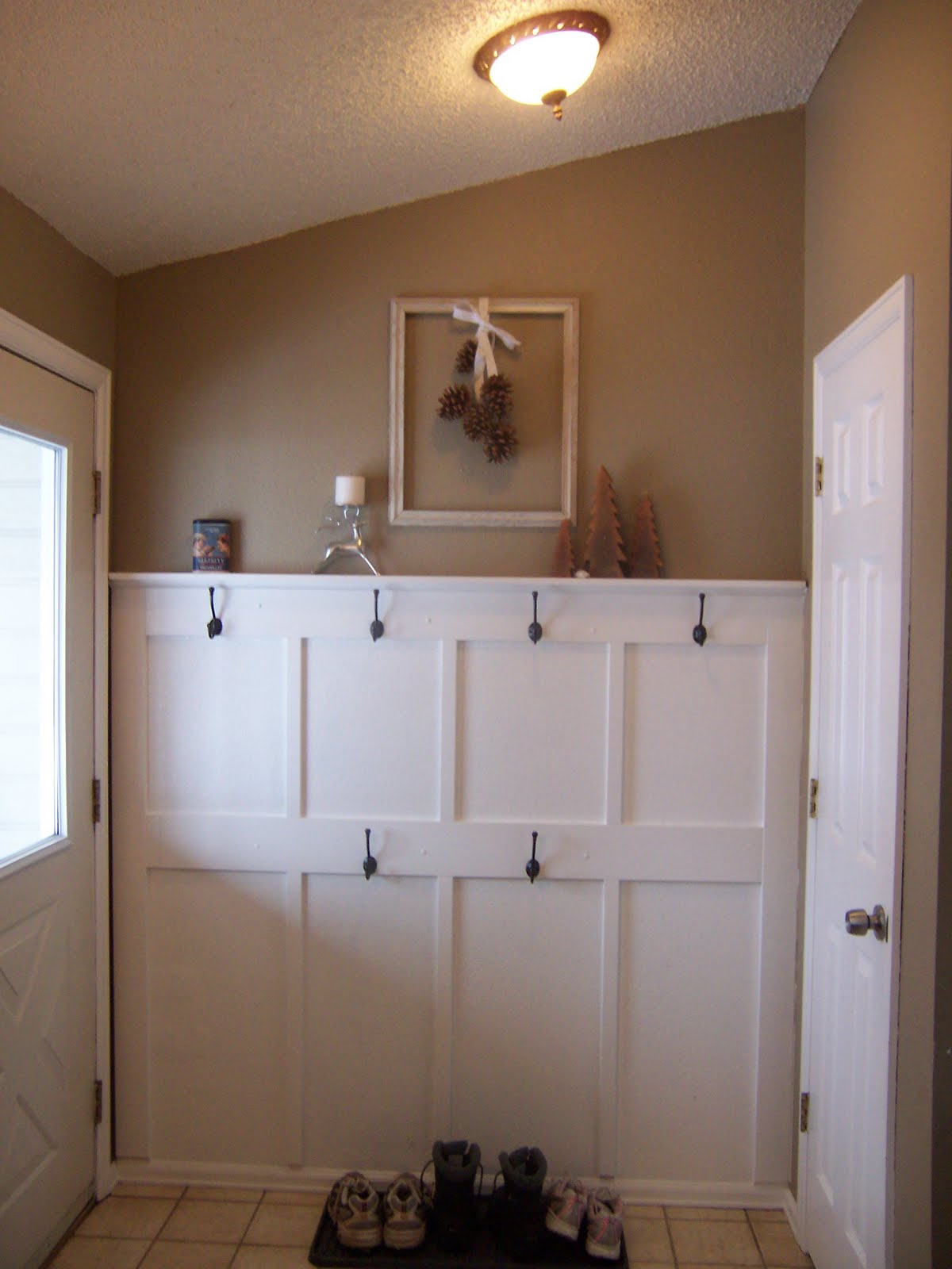 A beautiful cottage home kitchen wall sneak peak for To do board for kitchen