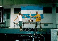 1er lugar dupla en argentina campeonado de break dance