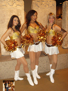 Cheerleaders bringing in cash for NFL teams