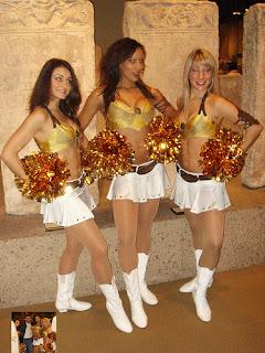Cheerleaders bringing in cash for NFL teams