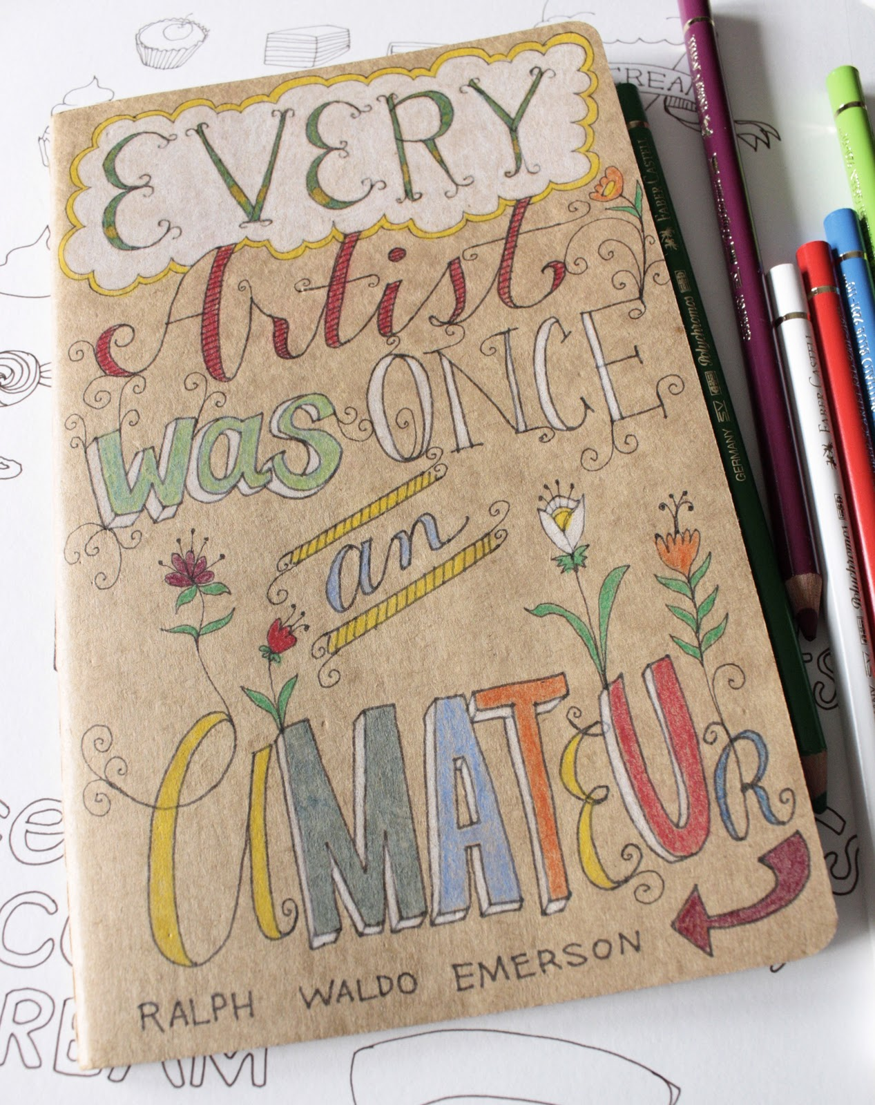 Cool Book Cover Quote ~ Quotes for sketchbook covers quotesgram