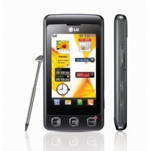 LG KP 500 touch screen