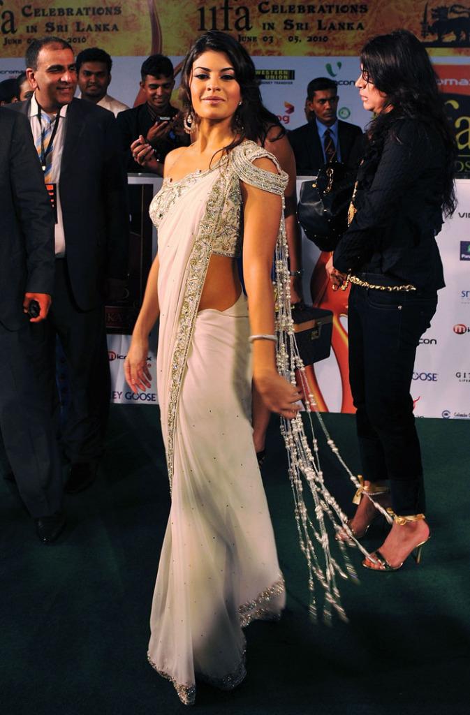 Jacqueline Fernandez In Saree At Iifa