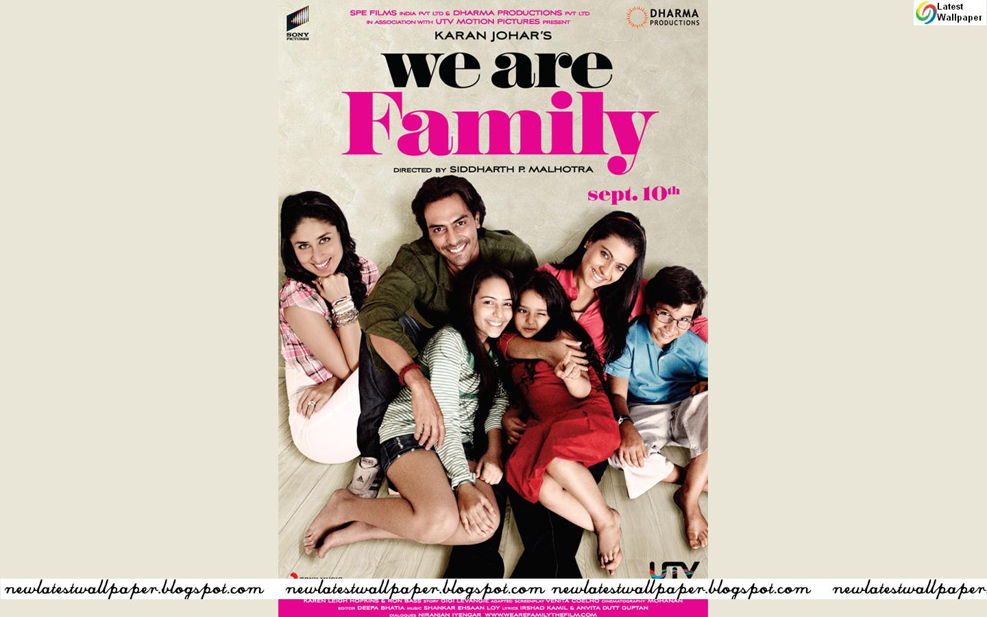 We Are Family Movie Wallpapers First Look Trailer