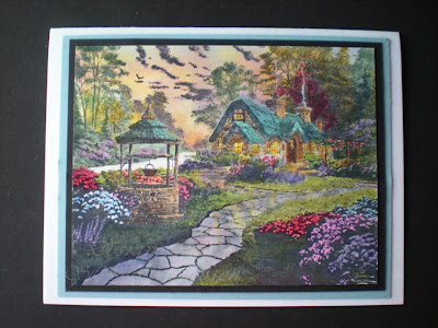Selmas Stamping Corner And Floral Designs Thomas Kinkade Make A