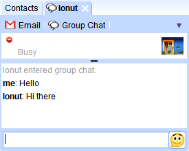 Google Talk IG Gadget Group Chat(Google Talk的iGoogle 小工具的多人聊天模式)