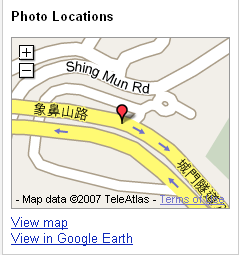 Picasa Web Albums Map Photos View Map Link(浏览地图链接)