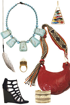 Eclectic Jewelry and Fashion: Spring Trends: Tribal Chic