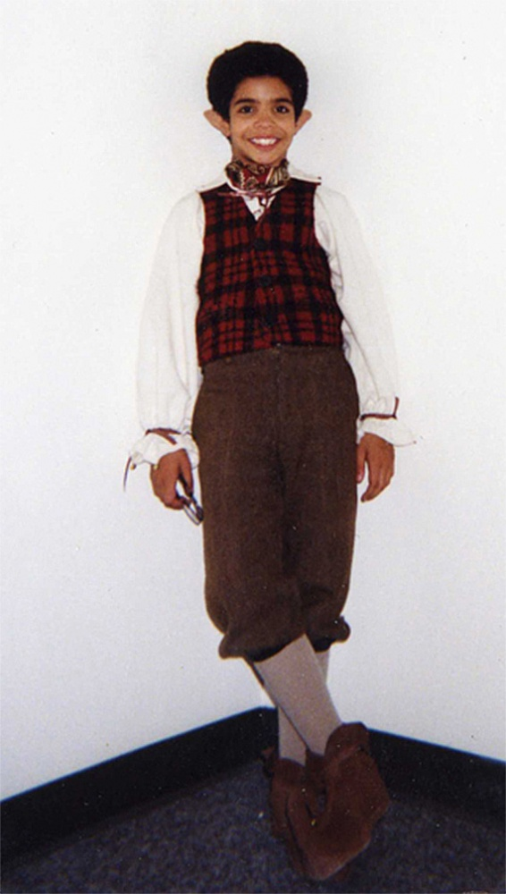 Ana-Nicole\'s World: Drake\'s childhood Halloween costume