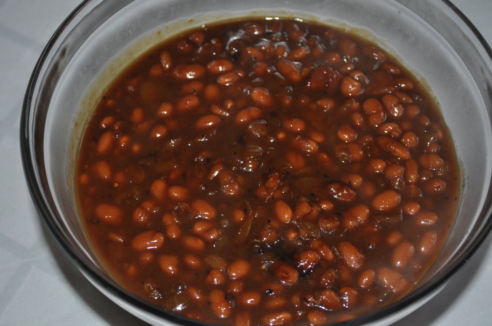 how to cook can baked beans