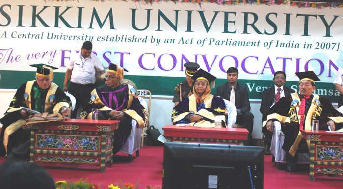 Sikkim Students: Sikkim University