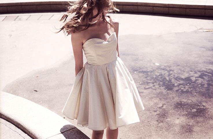 Девушка В Белом Платье Лица
