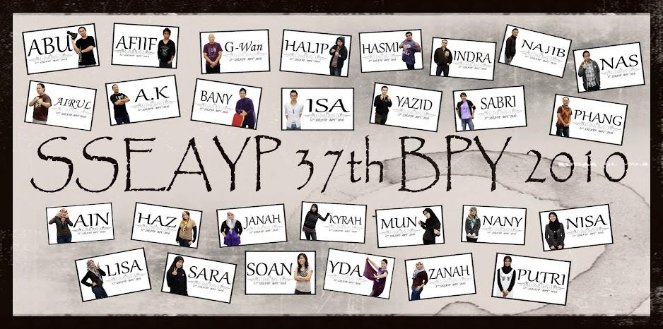 37TH BPY SSEAYP 2010
