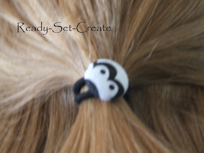 hair accessories with buttons