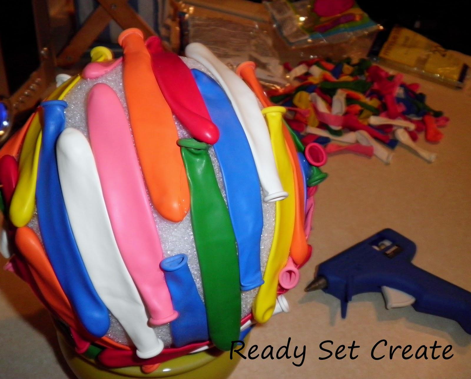 Ready, Set, Create!!: Birthday Topiary!