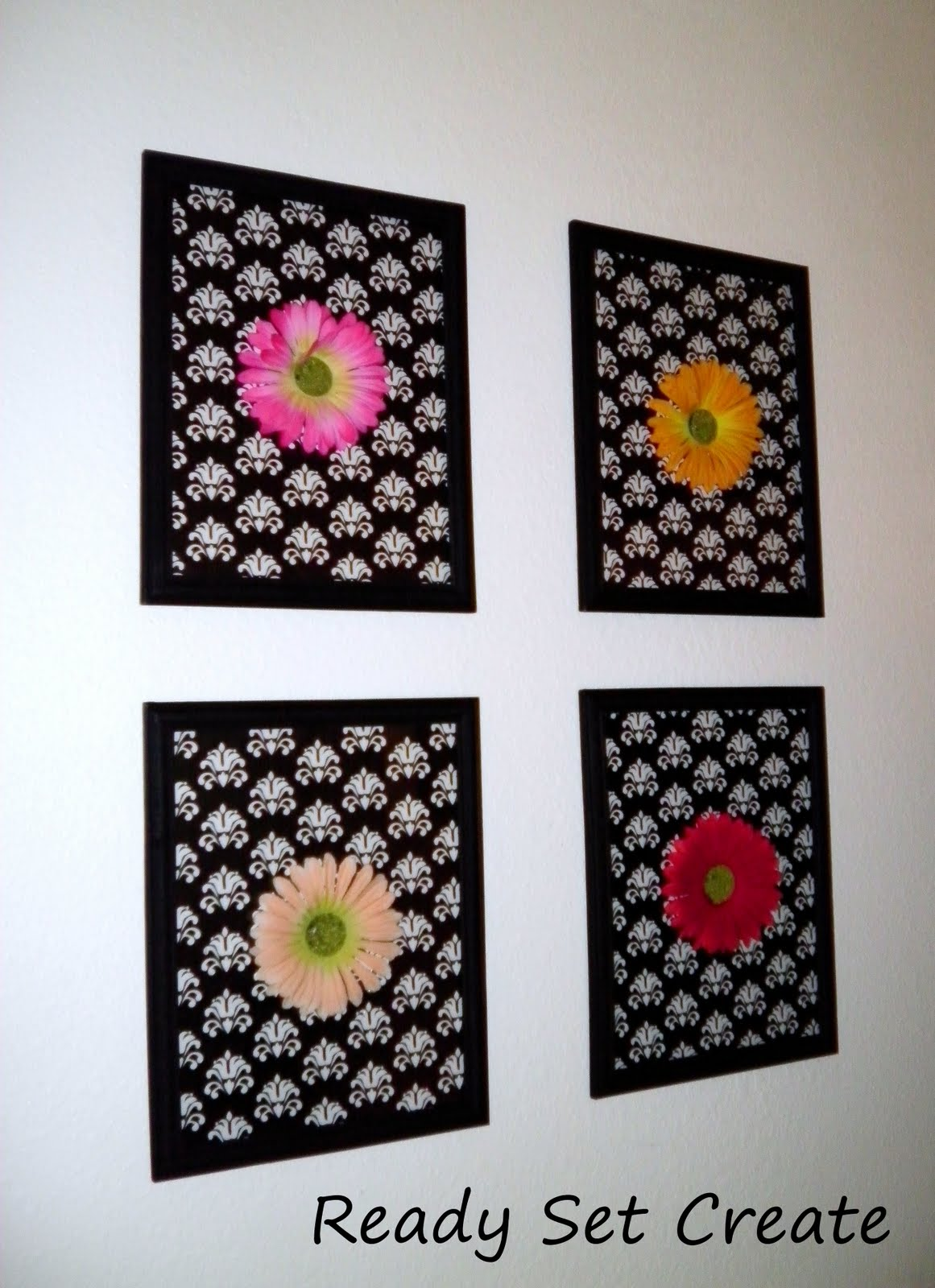 ready set create home decor on a dime part 2 flowery