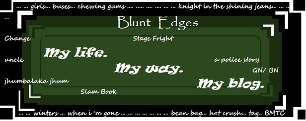 Blunt Edges
