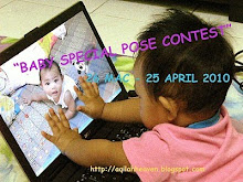 Baby's special pose contest