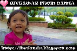 Giveaway from Damia