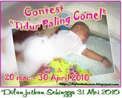 Contest Tidur Paling Comel by InfatiaHouse