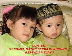 CONTEST MaMa3H: Si Comel Manis Berbaju Kurung / Berbaju Melayu