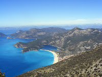 Ölüdeniz Beach From The Lycian Way