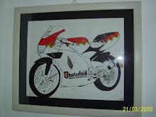 Per te che amavi le moto e disegnavi tutte quelle che avevi.