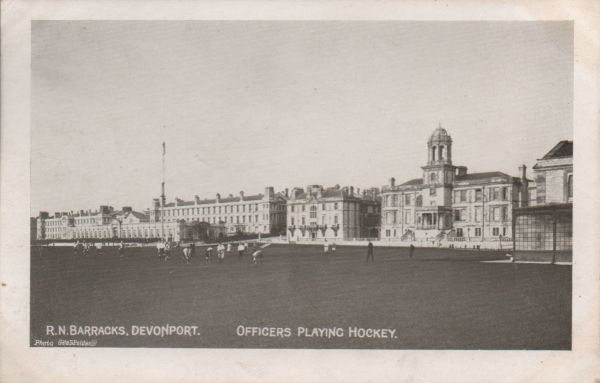 Royal Naval barracks, Devonport near Plymouth