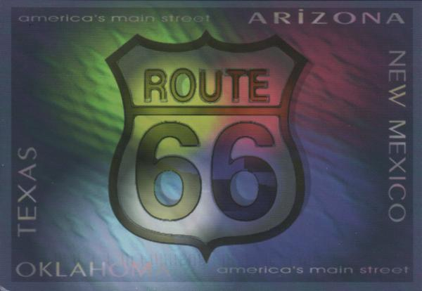 route 66 badge (America's main street)