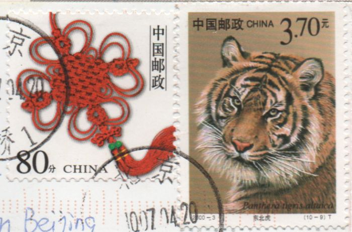 year of the tiger stamp