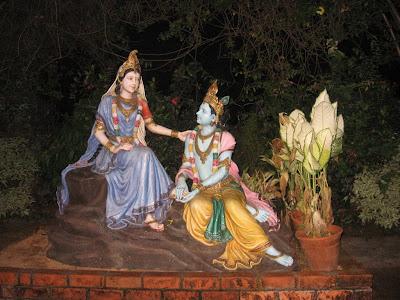 Radha Krishna Statue in Hosanadu, Kodyadka