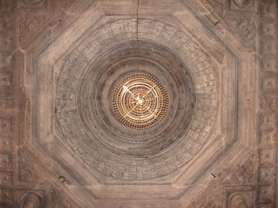 Beautiful Ceilings of Thousand Pillar Temple