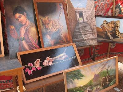 Art Exhibition in Chitradurga