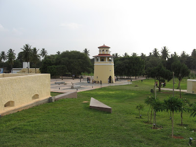 Watch tower at Freedom Park, Sheshadri Road, Bangalore