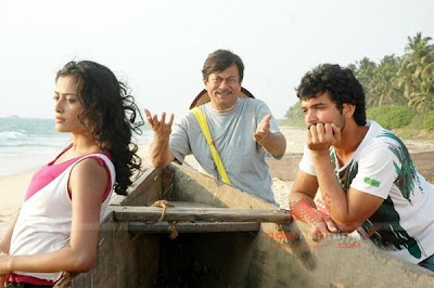 Nidhi Subbaiah, Diganth and Ananthnag in Pancharangi